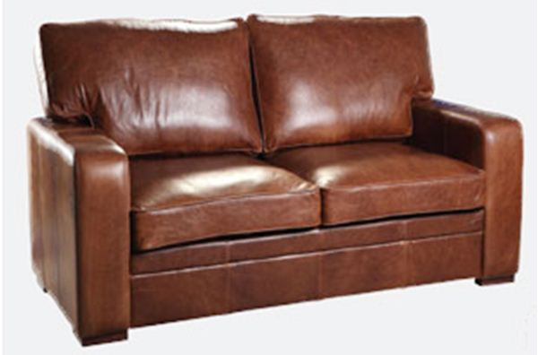 Miami 2 Seater Leather Sofa. Quality Oak furniture from The .