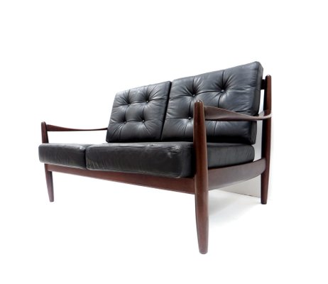 Danish Leather 2-Seater Sofa for sale at Pamo