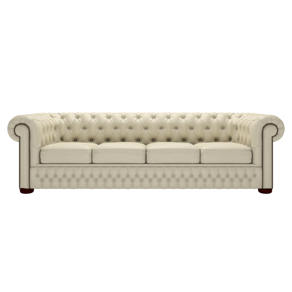 Classic Chesterfield Four-Seater Sofa | Timeless Chesterfiel