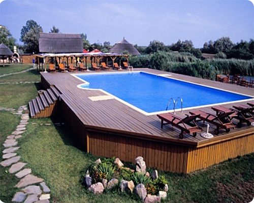 15 Awesome Above Ground Pool Deck Designs | InTheSwim Pool Bl