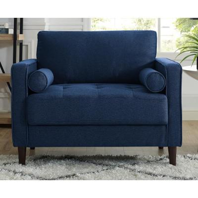 Microfiber - Blue - Accent Chairs - Chairs - The Home Dep