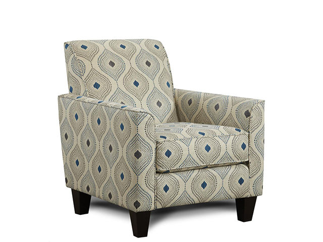 Electric Blue Accent Chair | The Furniture Ma