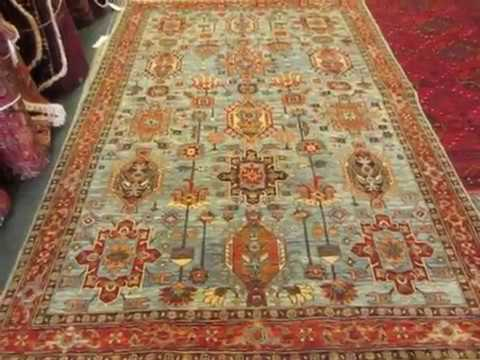 Beautiful Afghan Rugs for sale at Paradise Oriental Rugs, inc .