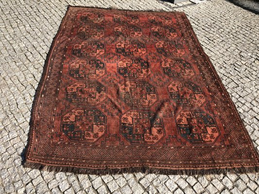 Antique Afghan Rug, 1890s for sale at Pamo
