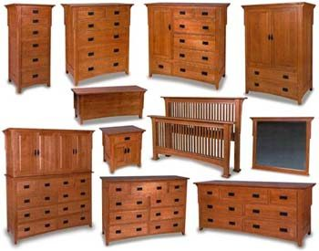 Millcreek Mission Amish Bedroom Furniture Collection | Amish .