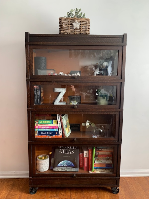 Sold Antique barrister bookcase in Naperville - let