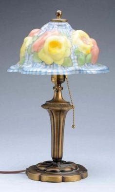 antique puffy lamp shades - Google Search | Lamp, Victorian .