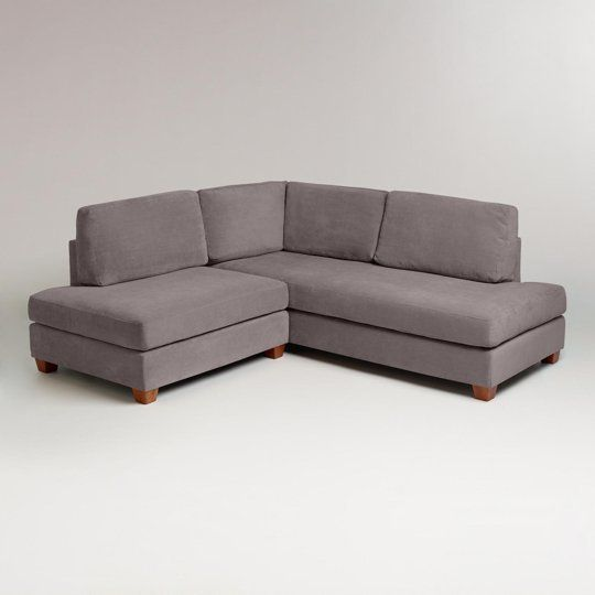 Apartment Size Sectional Sofa With Chaise | Small sectional sofa .