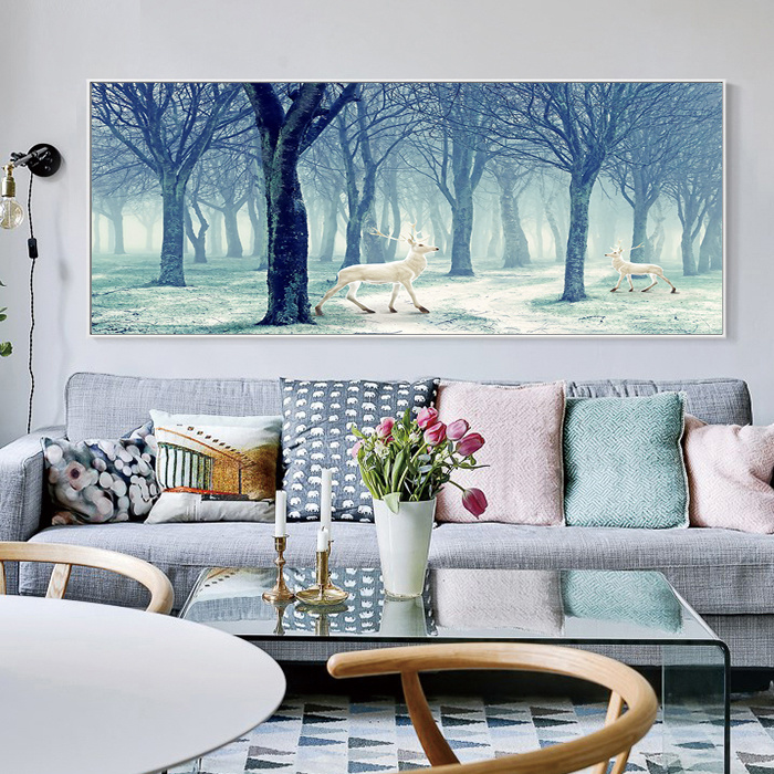 China Bedroom Wall Art Modern Oil Painting Lanscape Art Prints on .