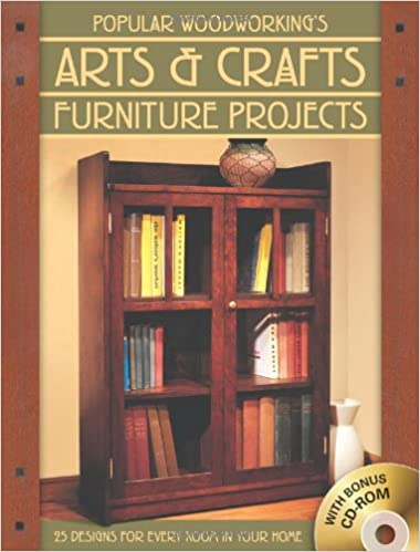 Popular Woodworking's Arts & Crafts Furniture: 25 Designs For .