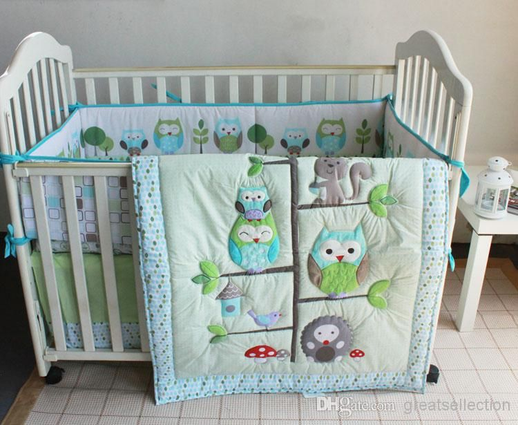 Wholesale Baby Crib Bedding Set - Buy Happy Owls And Friends Three .