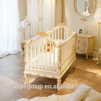 AK28- 2016 latest baby cots design and wooden designer baby cots .