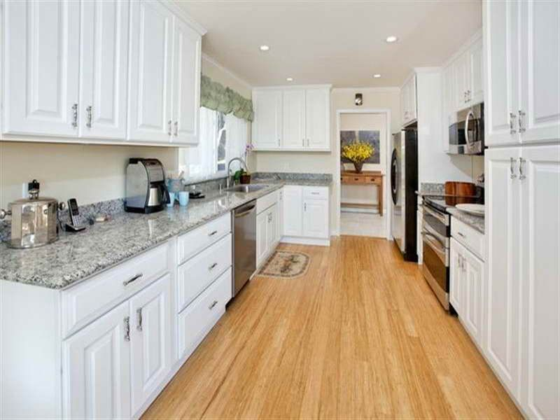 Light Bamboo Wood Floors With White Cabinets Bamboo, Flooring .