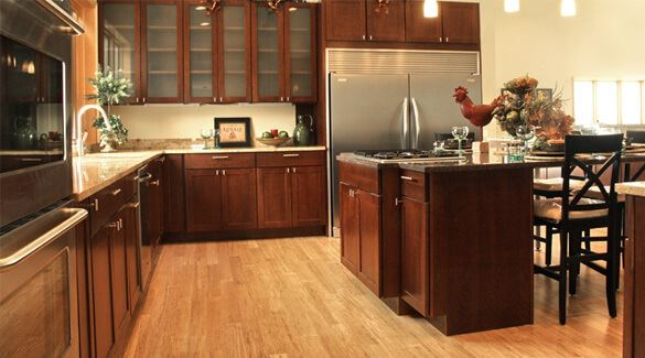 Bamboo Flooring in Kitchen | Commercial Bamboo Floori