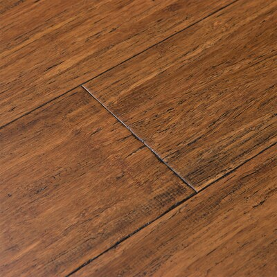 Cali Bamboo Fossilized 5-in Antique Java Bamboo Solid Hardwood .