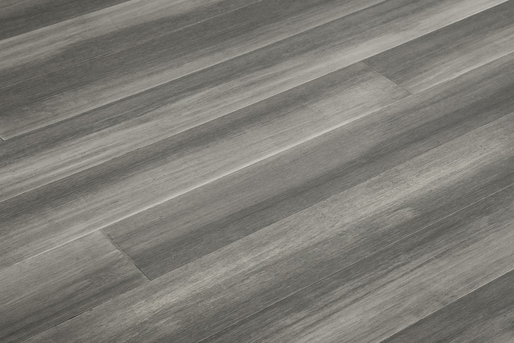 Yanchi Wide-Plank T&G Solid Strand Woven Bamboo Flooring .