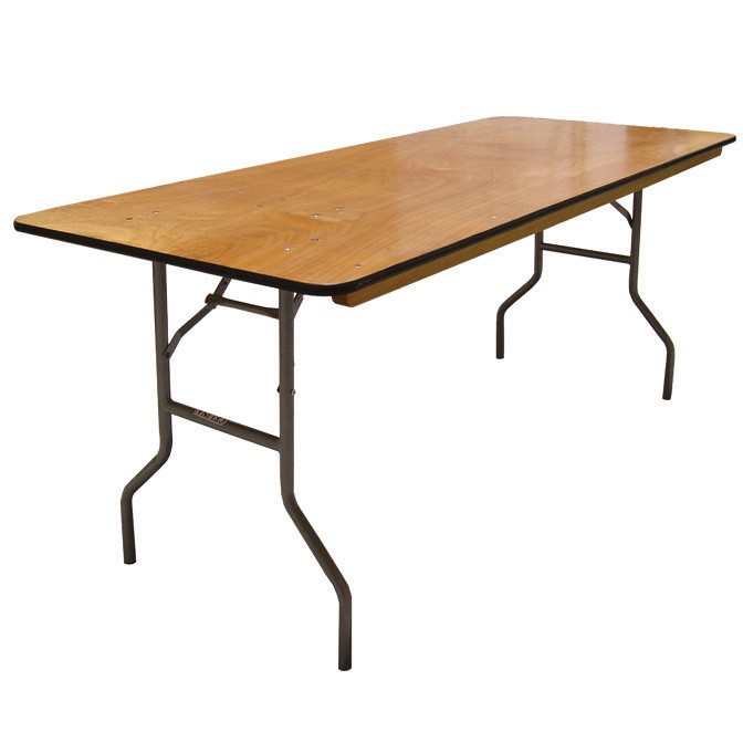 Banquet Table 6' - Area Rental & Sal