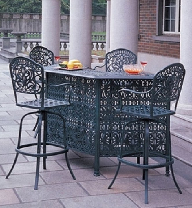 Tuscany By Hanamint Luxury Cast Aluminum Patio Furniture 4-Person .