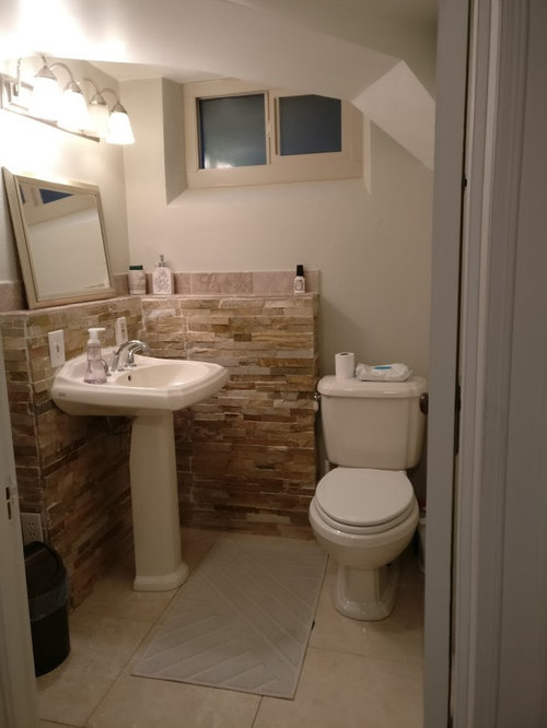 What's the value of adding a shower in a basement bathroo