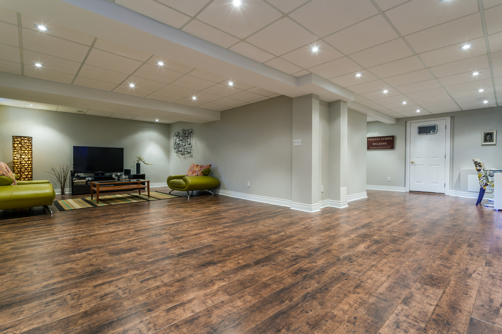 The Perfect Flooring For Your Middletown Basement - Floor .