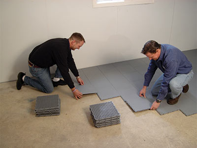 ThermalDry™ Basement Flooring Systems | Basement Syste