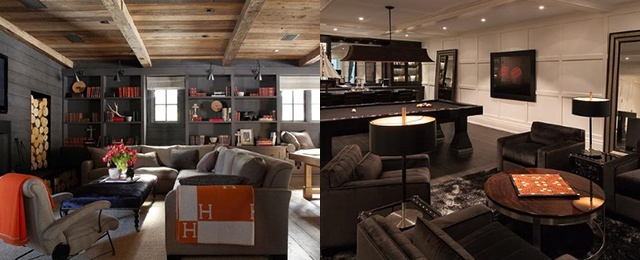 Top 70 Best Finished Basement Ideas - Renovated Downstairs Desig