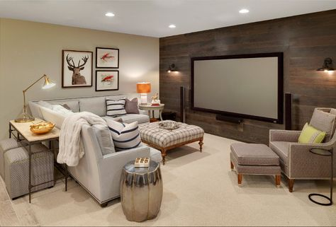 15 Basement Decorating Ideas (How To Guide)   Home, Basement house .