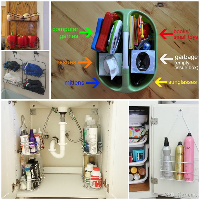 How to Organize With Shower Caddies In & Out of the Show