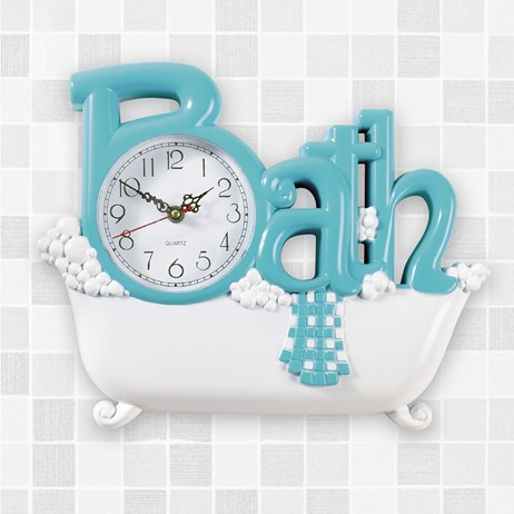 Bathroom Wall Clock | Collections Et