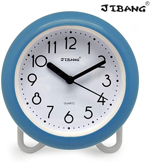 Amazon.com: JIBANG Waterproof Bathroom Clock, Desktop Clocks for .