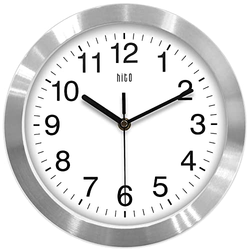 Silent Wall Clocks for Bathroom: Amazon.c