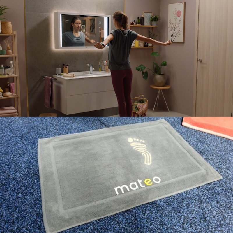 CES 2020: Mateo is a smart bathroom mat that tracks your weight .