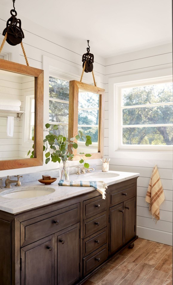 20+ Beautiful Bathroom Mirror Ideas to Shake Up Your Morning .