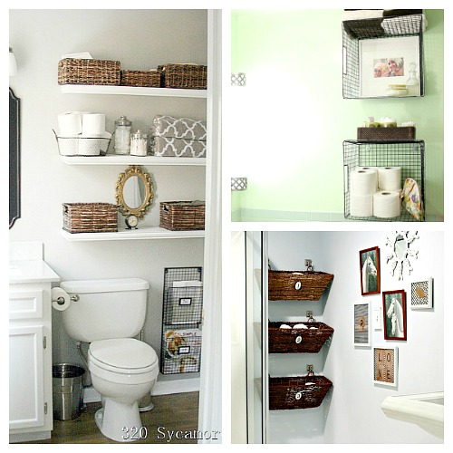 11 Fantastic Small Bathroom Organizing Ideas- A Cultivated Ne
