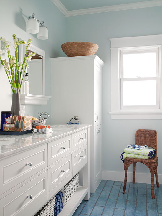 Small Bathroom Color Ideas | Better Homes & Garde
