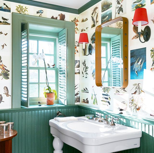 18 Small Bathroom Paint Colors We Love - Colorful Powder Roo