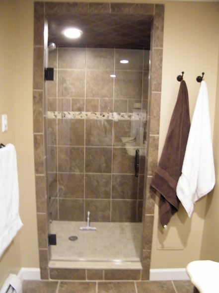 Frameless Glass Shower Door, Single Door. Simple beauty! | Shower .