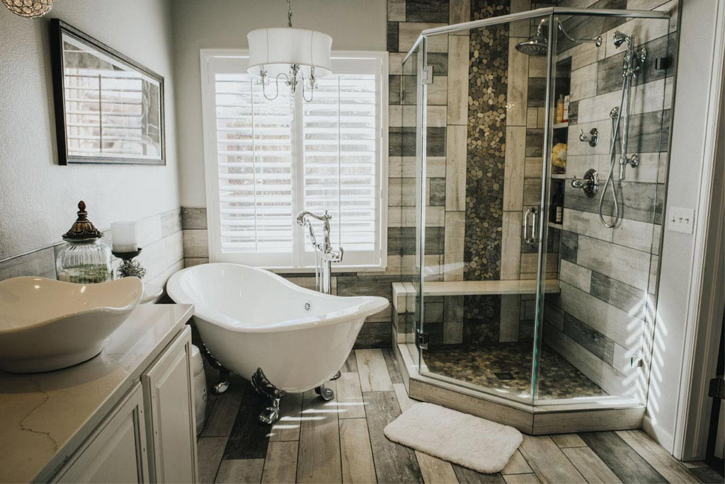10+ Simple and Futuristic Bathroom Remodeling Ideas #Home Dec
