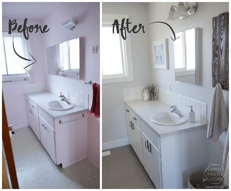 Bathroom Remodel Diy diy bathroom remodel on a budget (and | Cheap .