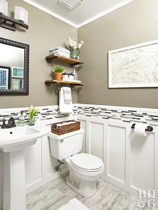 Budget-Friendly Tips for Renovating a Powder Room in 2020 | Small .