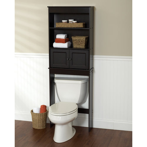 Chapter Bathroom Storage Over the Toilet Space Saver, Espresso .