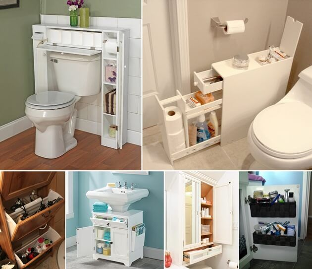 10 Space-Saving Storage Ideas for Your Bathroom | Apartment .