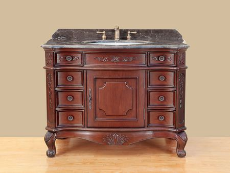 25 Awe-Inspiring Antique Bathroom Vanity - Winflo Oster