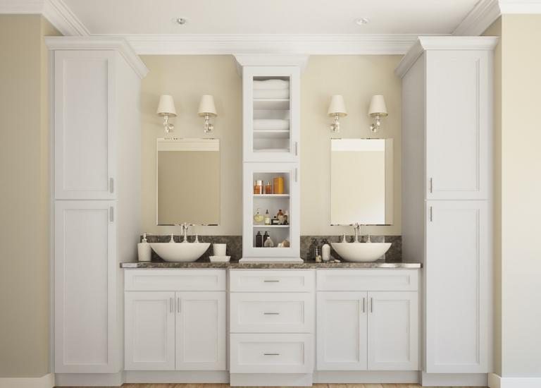 Ready to Assemble Bathroom Vanities & Cabinets - The RTA Sto