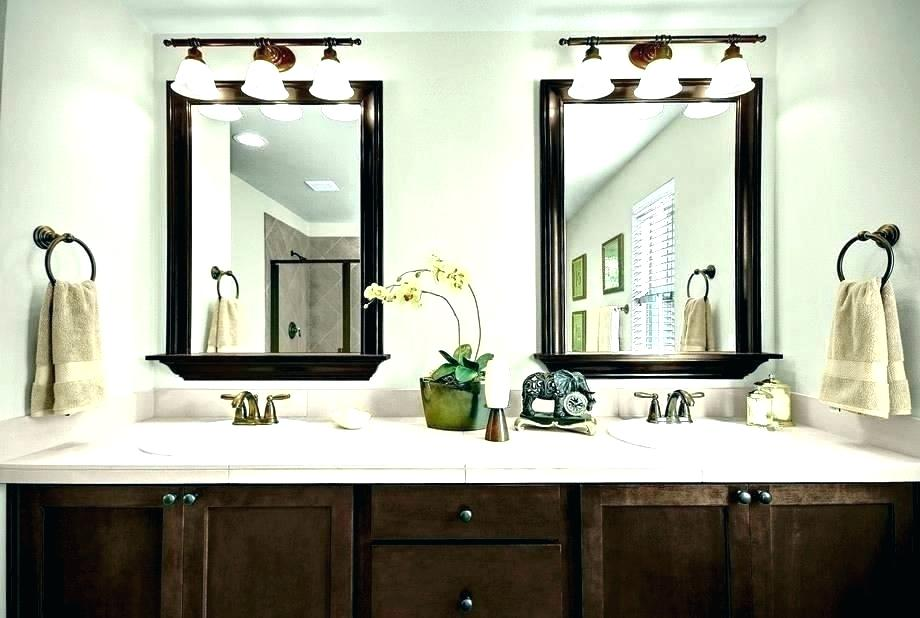 Vanity Mirror Ideas Mirrors Bathroom Double For With Side Lights .