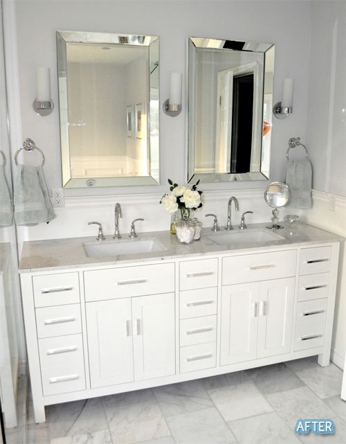 Before And After Small Bathroom Makeovers Big On Style | Small .