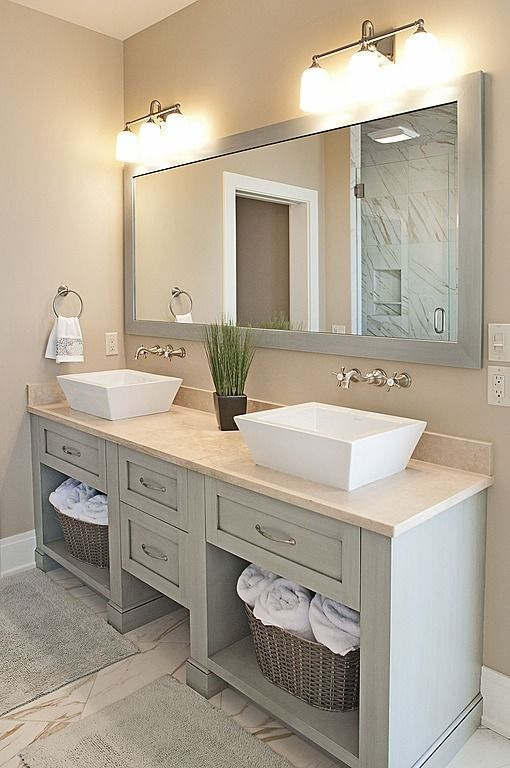 35 Cool and Creative Double Sink Vanity Design Ideas | Bathroom .