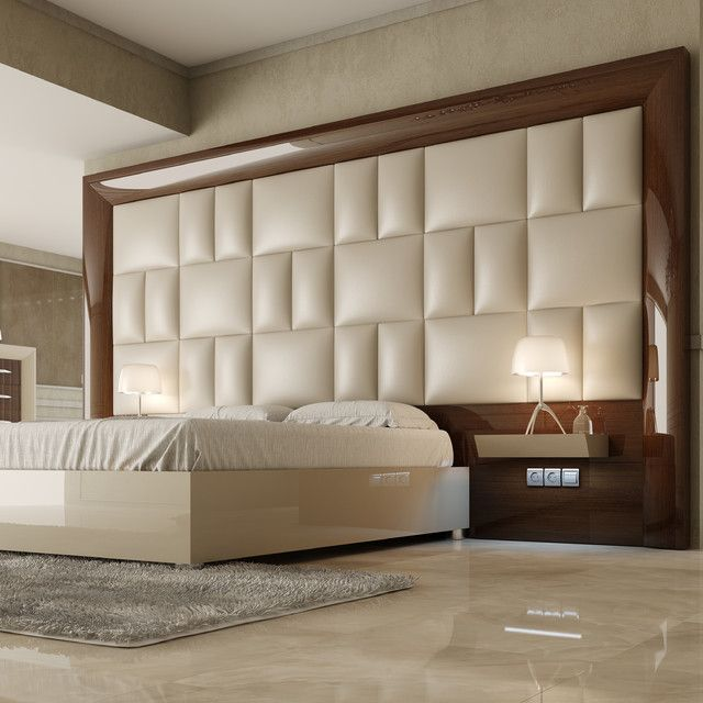 30 Awesome Headboard Design Ideas | Bed headboard design, Bed back .