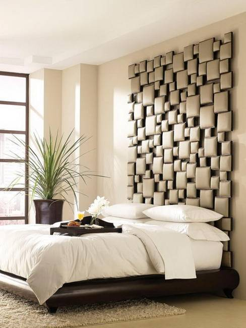 15 Interesting Bed Headboard Ideas and Wall Decorations for Modern .