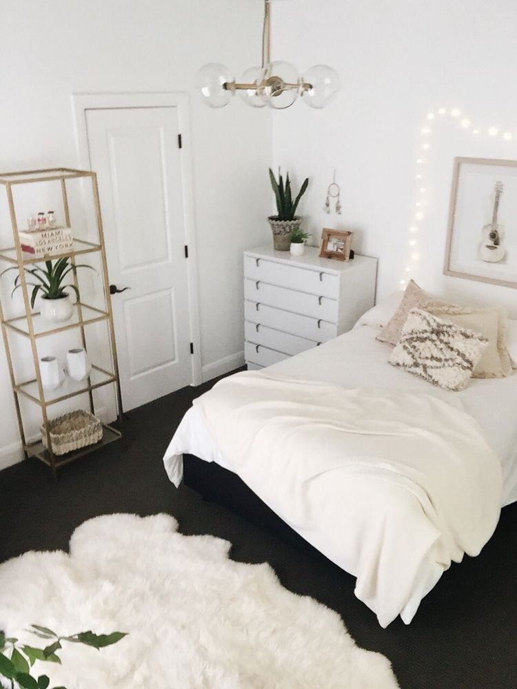 50 Cute Teenage Girl Bedroom Ideas | Apartment bedroom decor, Room .